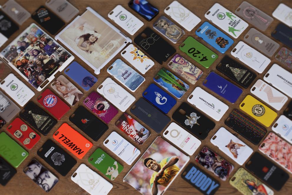 фотопечать на чехлах для iphone